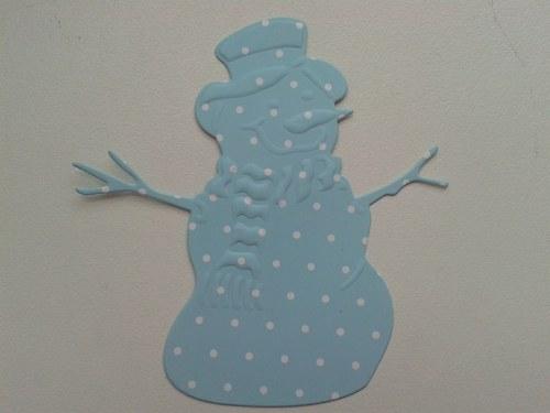 Sněhulák - puntíkatý