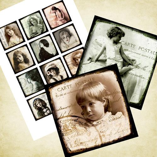 Nažehlovací obrázky - Nostalgie - cena za všechny