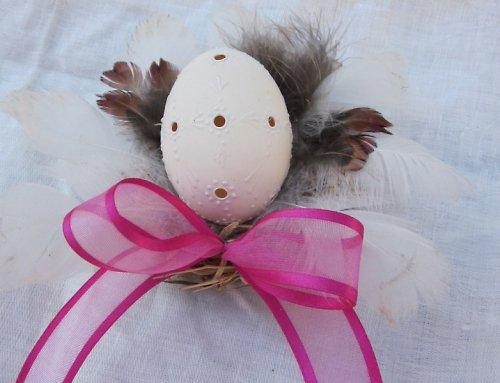 Kachní madeira vejce v hnízdečku