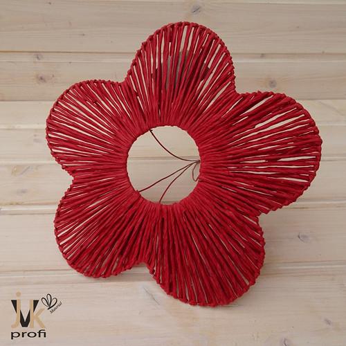 Kytice - červená 25 cm