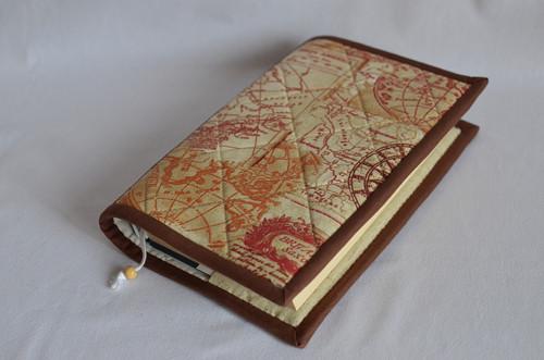 Obal na knihu - mapa