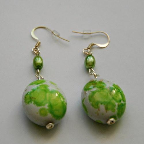 Zelená kropenatá vajíčka