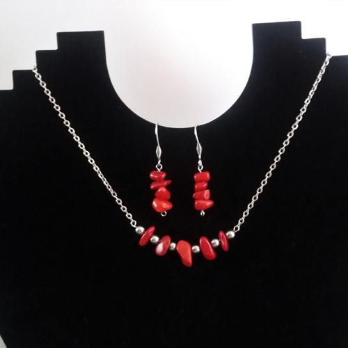ocelový náhrdelník,náušničky zdarma !!!! AKCE !!!!