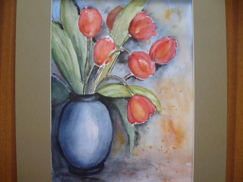 Lázeňské tulipány