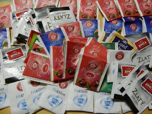 Čajové sáčky,pytlíky- 100 ks na vyrábění