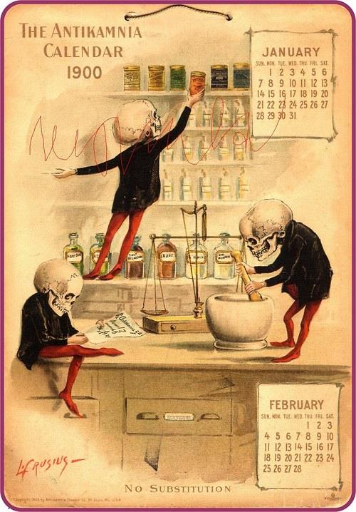 Kalendář 1900
