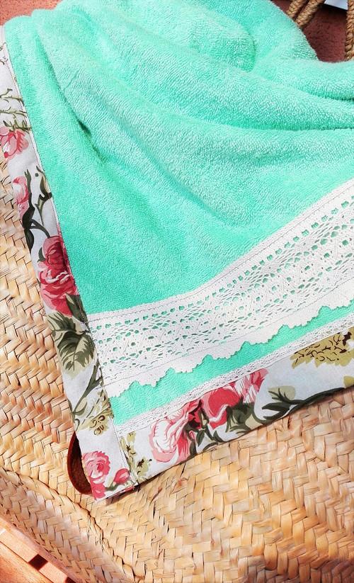 Vintage osuška / plážová deka