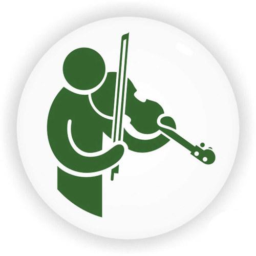 Zelený houslista