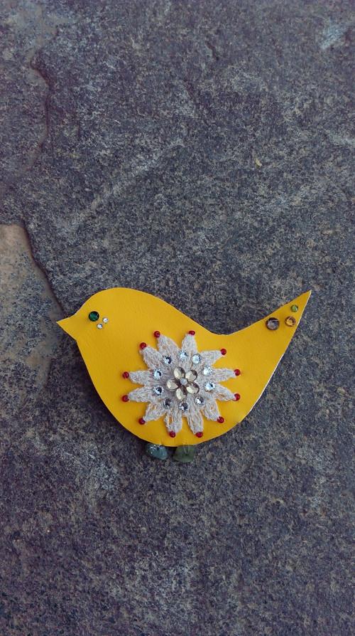 Sluneční ptáček