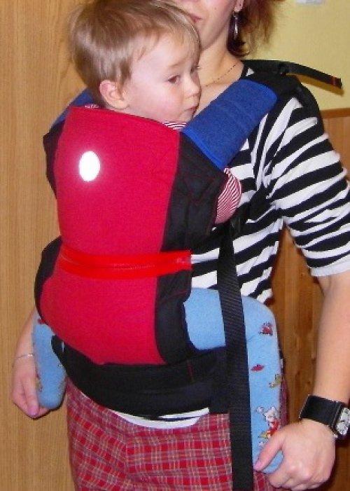 Ergonomické nosítko na mimi i školkáčka:)