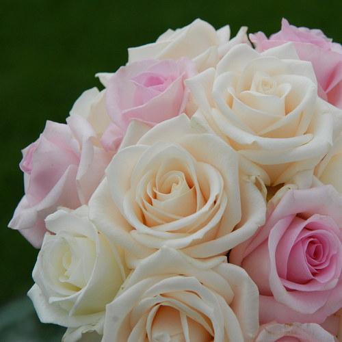 Svatební z růží