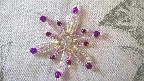 Hvězda - fialová
