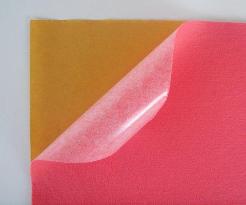 Samolepicí plsť barva č. 11 - tmavě růžová