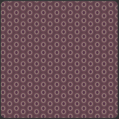 Látka Oval Elements Prune Brown 915