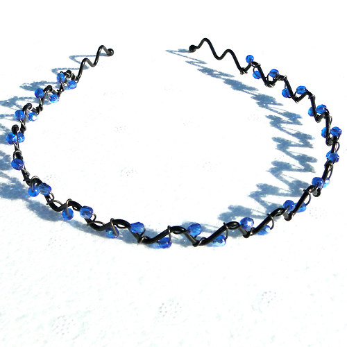 Čelenka - tmavě modrá