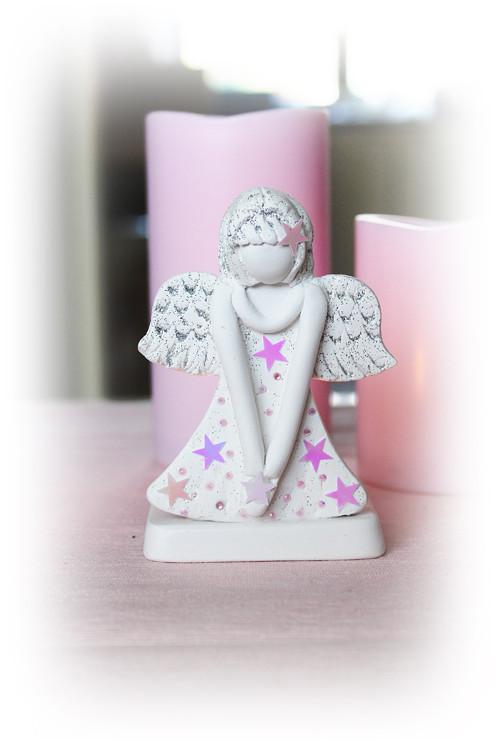 Andělský svícínek - růžový
