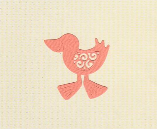 Kuřátko - oranžové (2 ks)