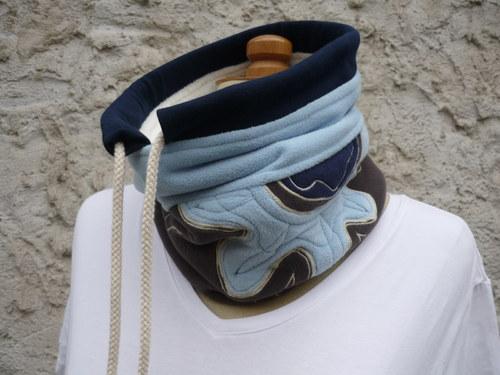 fleecový nákrčník