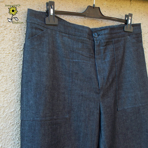 Pánské džínové kalhoty-černé