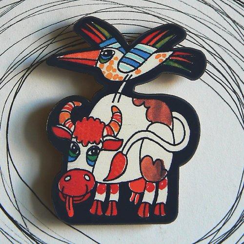 Magnet kravička