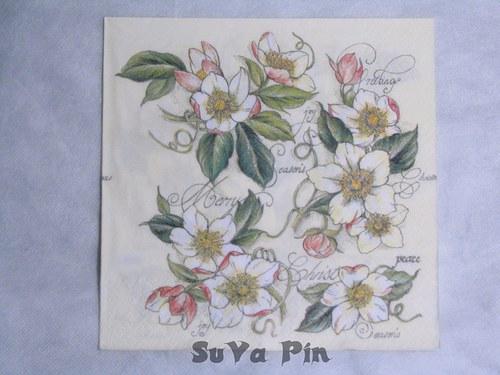Ubrousek Jabloňový květ