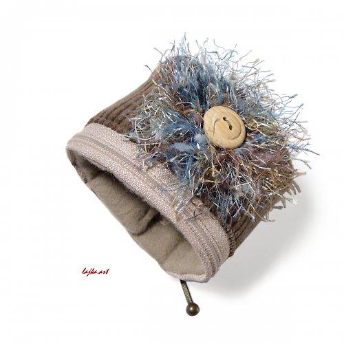 náramek s kapsičkou - peněženkou