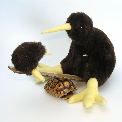 Kiwi s kiwátkem  - autorská hračka