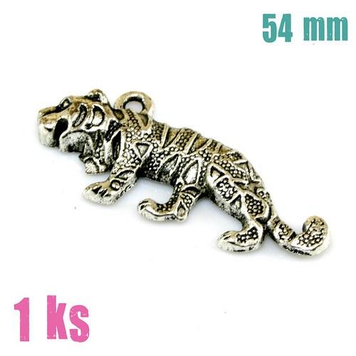 Přívěsek - velký tygr, 54 mm