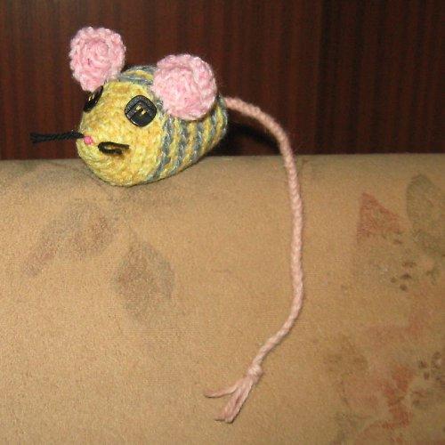 Háčkovaná myška