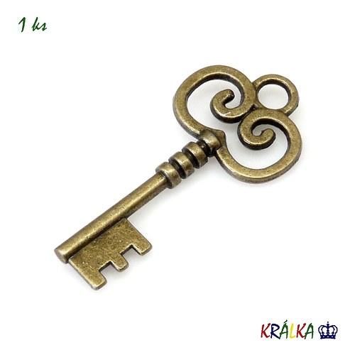 Přívěsek klíč střední