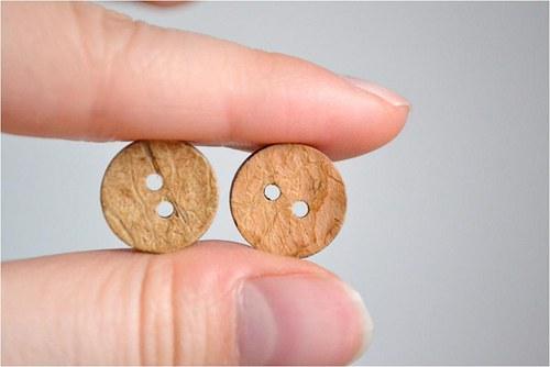 Kokosový knoflík 14mm, 1 kus