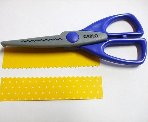 Okrasné nůžky Carlo