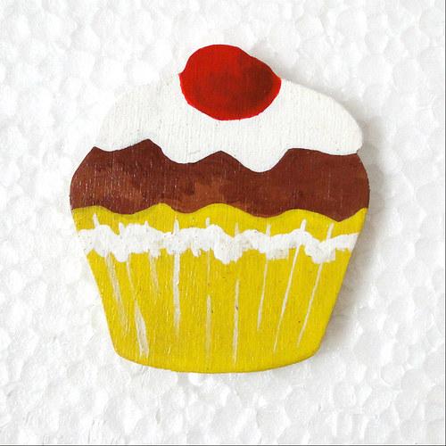 Magnet pudinkový dortík