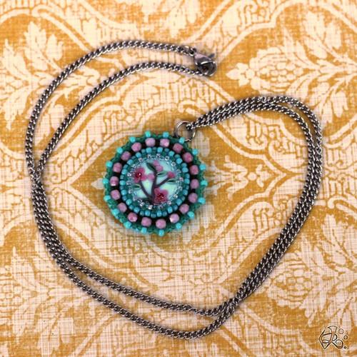 Mentolová zahrada náhrdelník