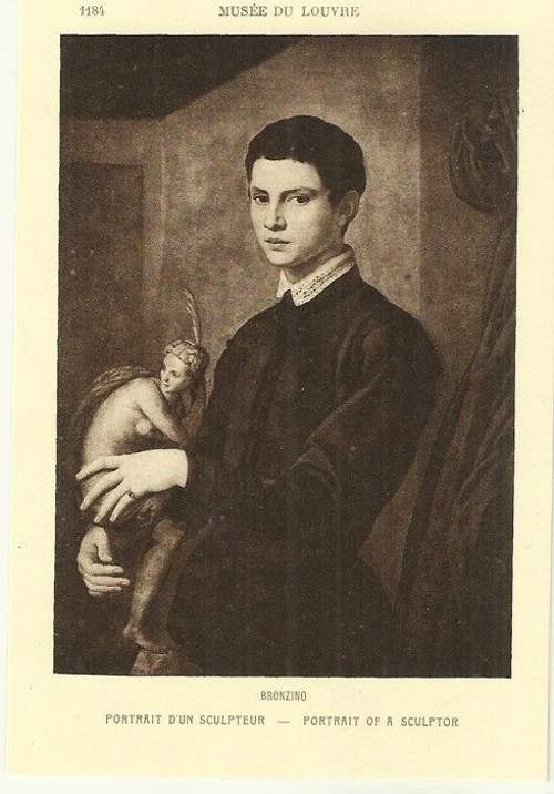 Umělecká pohlednice Bronzino