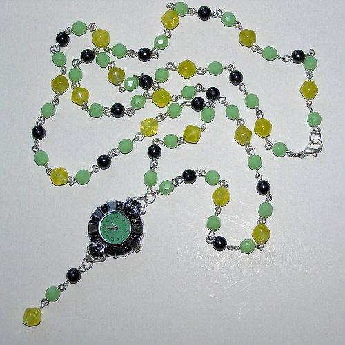 Hodinkový náhrdelník Orfeanne