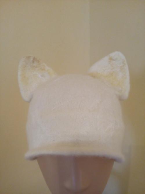 Dětská čepice - kočka
