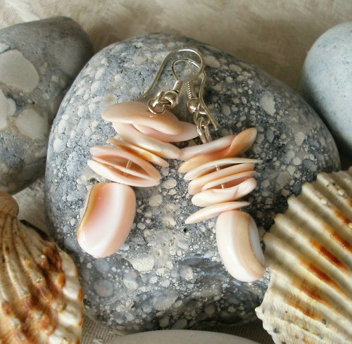 Náušnice mořské panny - VÝPRODEJ!!
