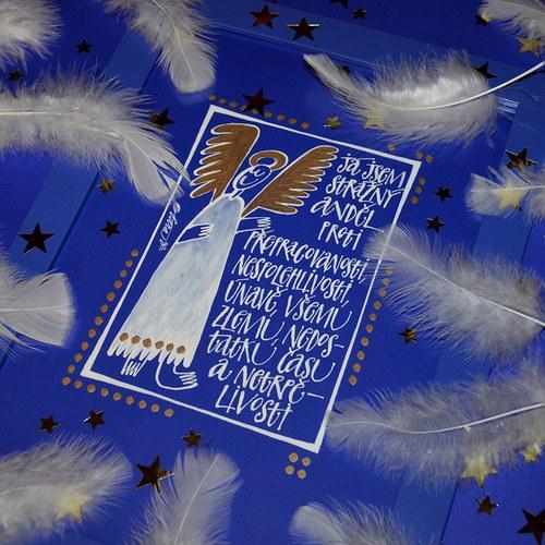 strážný anděl proti přepracovanosti a tak...