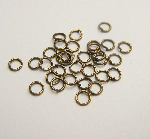 Kroužky 5 mm  - 4,5 gr.