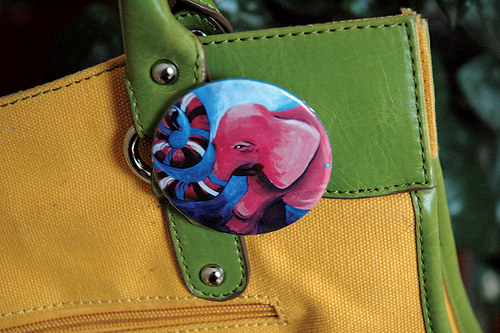 Růžový slon - průvodce na cestách