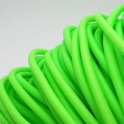 Zelenkavá šňůrka - dutinka / 5 mm