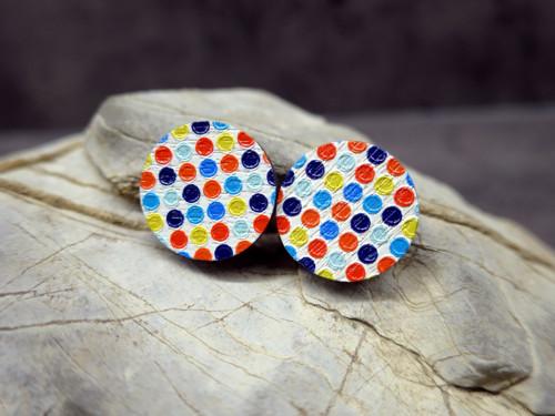 Veselé puntíky - světlé