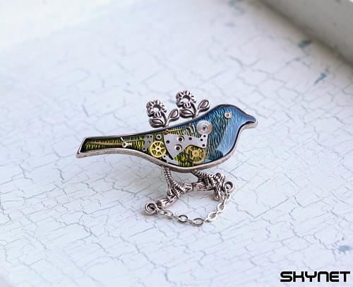 Ptáček jarabáček - brož