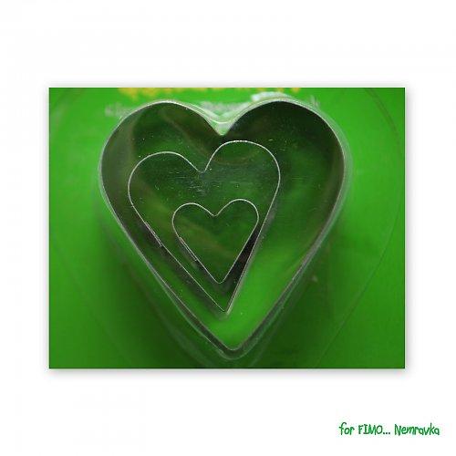 Sada vykrajovátek - Srdce