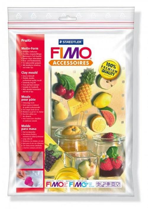 Formy na Fimo / silikonové / Ovoce