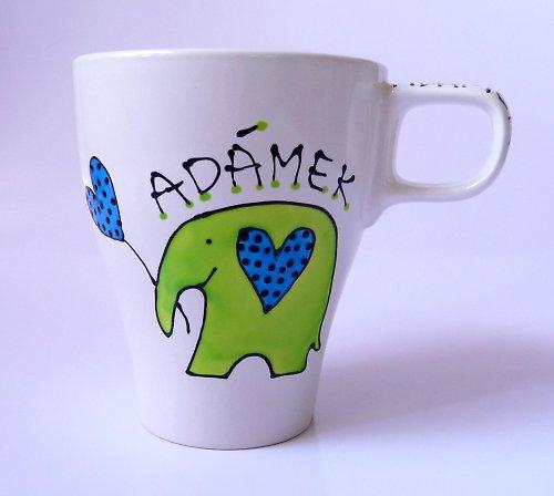 hrnek se jménem - slon