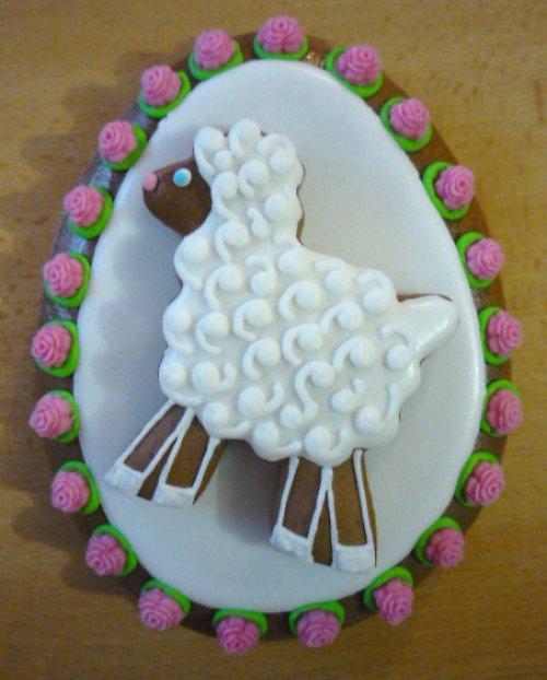 Vajíčko s ovečkou