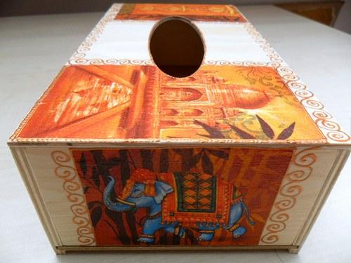 """Krabička na kapesníky \""""Orient\"""""""