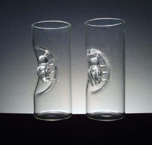 skleničky s VČELKAMI CENA  za 1 ks